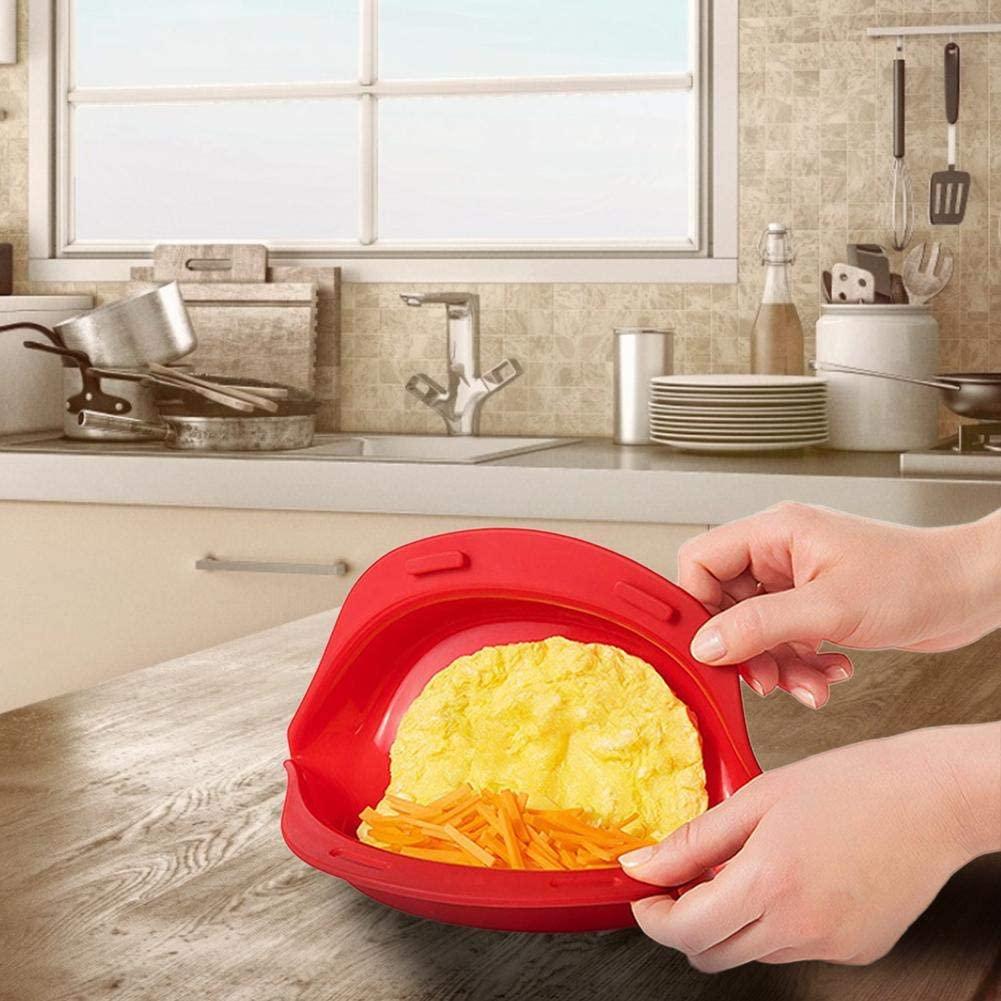 molde tortilla microondas