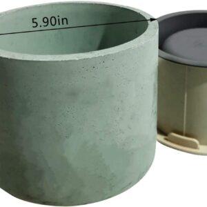 moldes de silicon macetas baratas