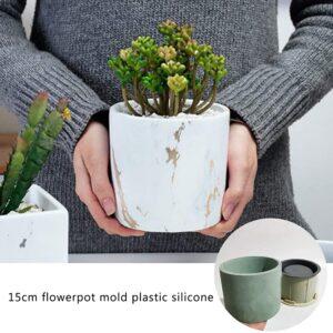 molde silicona para macetas de cemento a buen precio