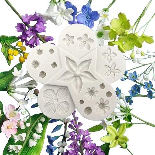 moldes para porcelana fria hojas oferta