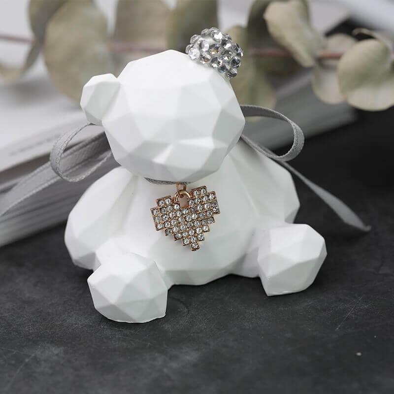 Venta moldes de silicona para yeso forma oso